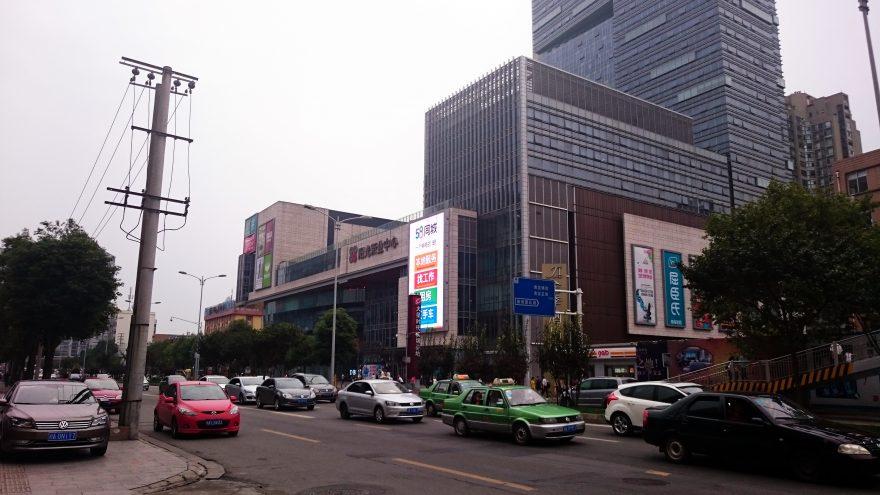 chengdu centrum miasta